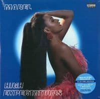 MABEL High Expectations Vinyl Record LP Polydor 2019 Blue Vinyl